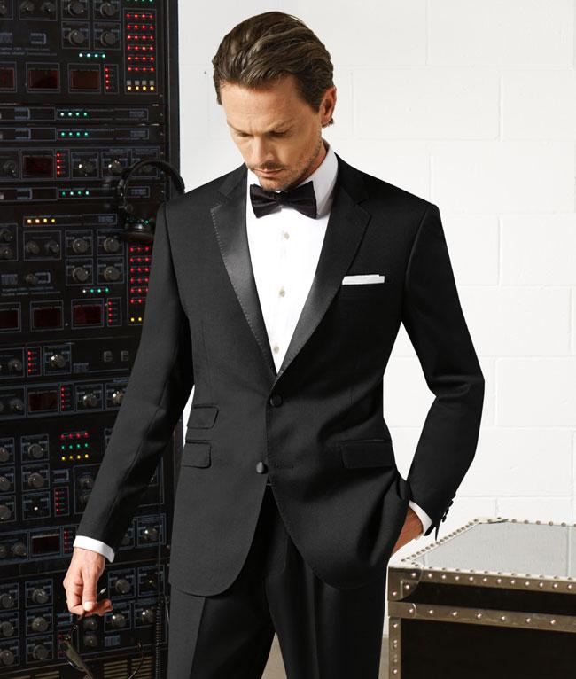 Tuxedo - Black Notched Lapel