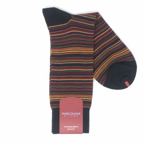 2933T---005871-Poncho-Stripe-Charcoal